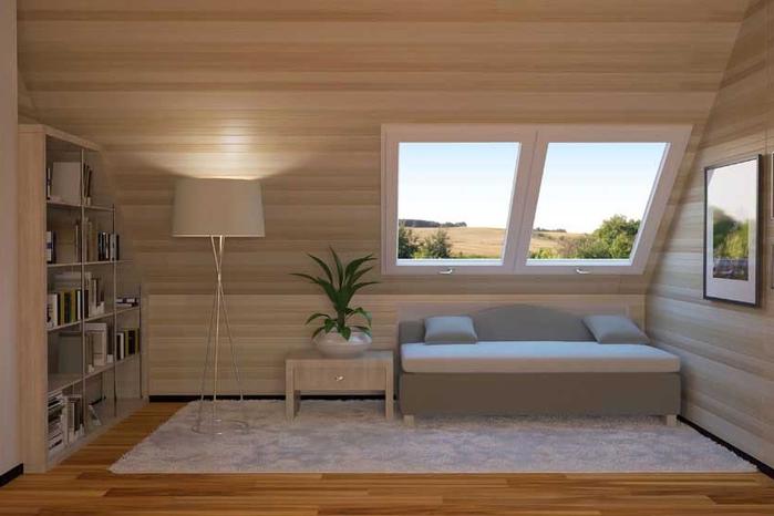 61 . idee bagno nel sottotetto : mansarda casa, arredare sottotetto ...