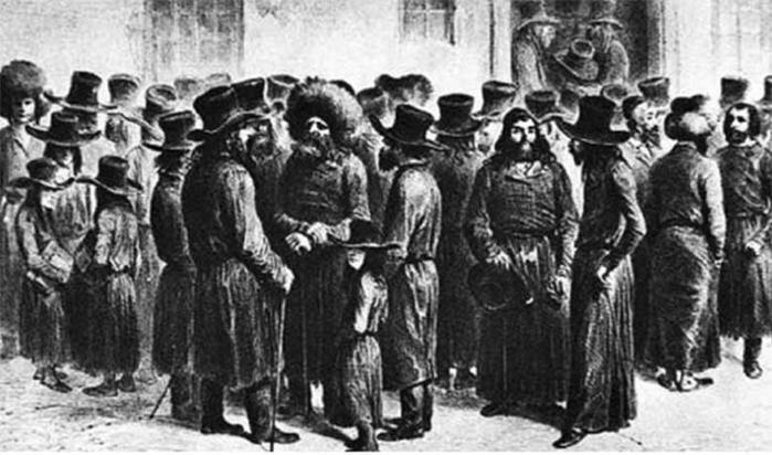 Как евреи появились и жили на территории России с древних времен