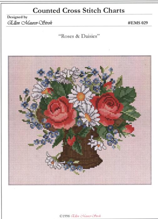 _029 Roses & Daisies (504x700, 291Kb)