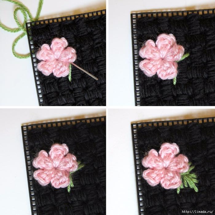floral-plastic-canvas-clutch-step-four-2 (700x700, 350Kb)