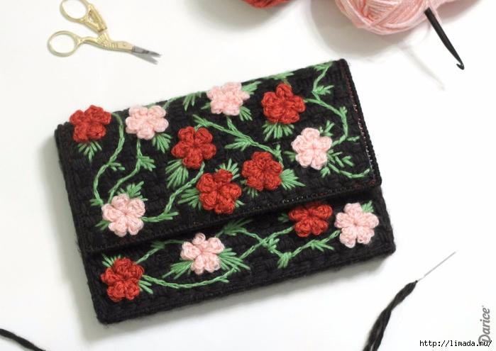 Floral-plastic-canvas-DIY-clutch-Darice-4 (700x495, 206Kb)