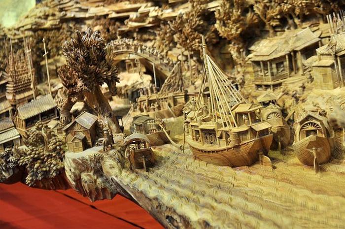 деревянная скульптура 6 (700x465, 400Kb)