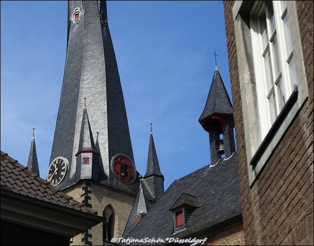 Старый город в Дюссельдорфе