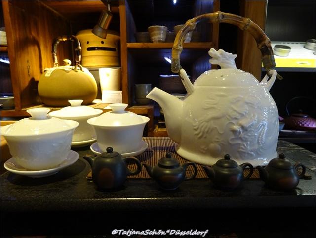 Чайная в Старом городе в Дюссельдорфе