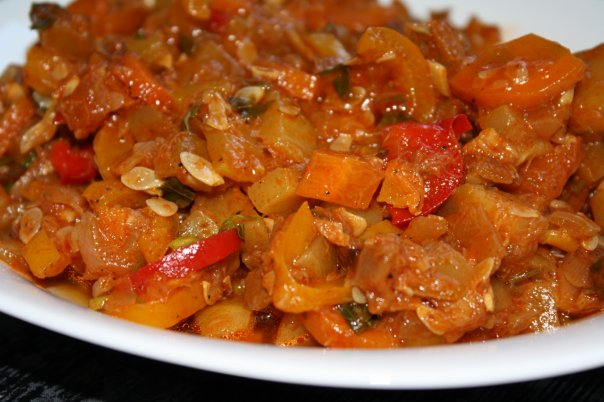 овощное рагу с картошкой и мясом фото