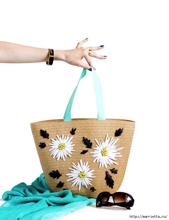 Вышивки для пляжных сумок