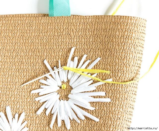 Вышивка на соломенной пляжной сумке (2) (640x529, 391Kb)