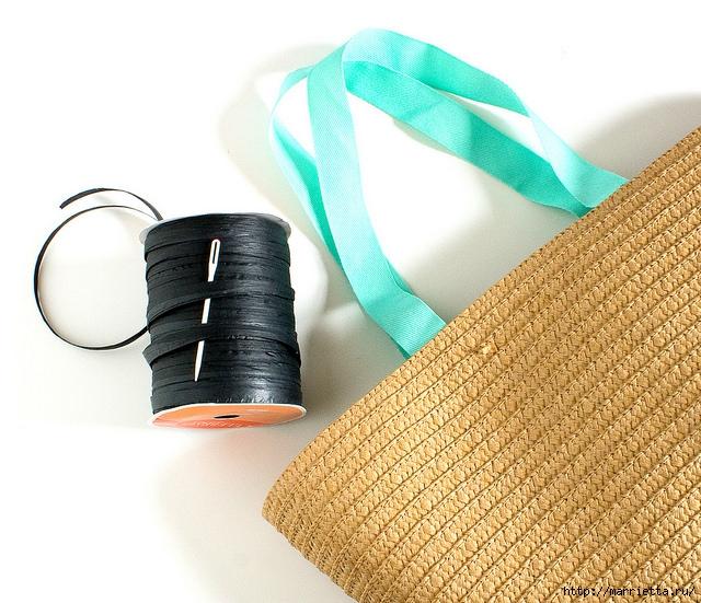 Вышивка на соломенной пляжной сумке (8) (640x551, 257Kb)