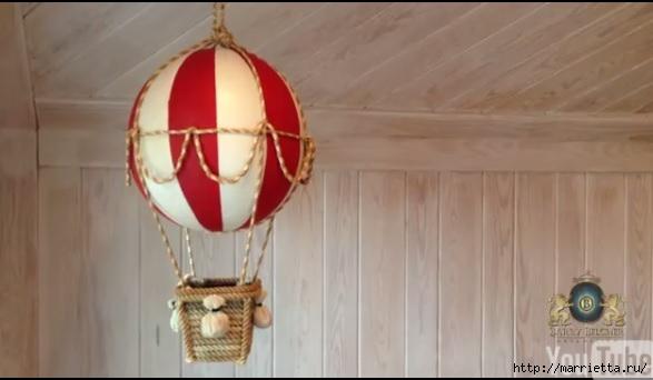 Воздушный шар своими руками для детской комнаты (2) (587x342, 86Kb)