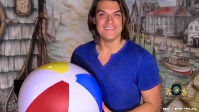 Воздушный шар своими руками для детской комнаты (3) (700x395, 159Kb)