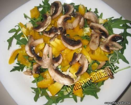 Салат с рукколой и грибами/3973799_ (500x400, 32Kb)