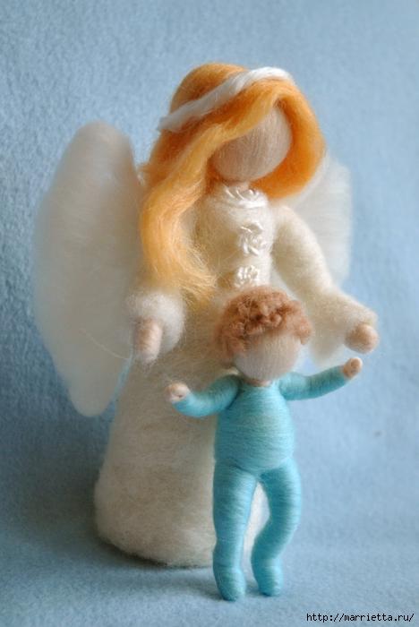 Как сделать куклу своими руками из шерстяных ниток