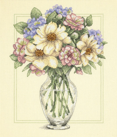 Dimensions35228_Flowers_in_Tall_Vase (400x469, 236Kb)
