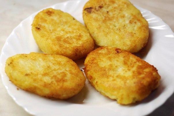 Картофельные котлеты с курицей (604x404, 41Kb)