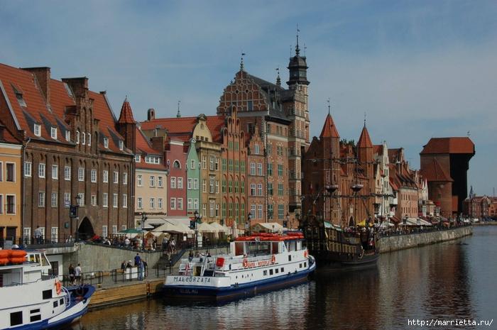 Польша. Достопримечательности Гданьска (1) (700x465, 287Kb)