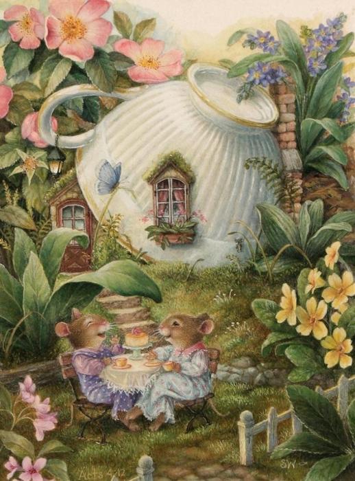 кролики дек.картинка (518x700, 428Kb)