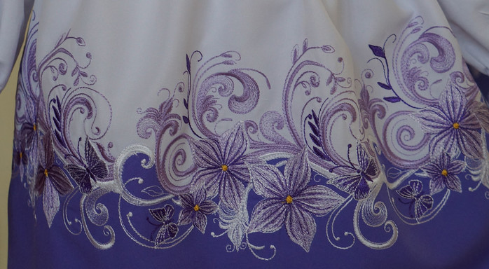 Вышивка на простой швейной машинке