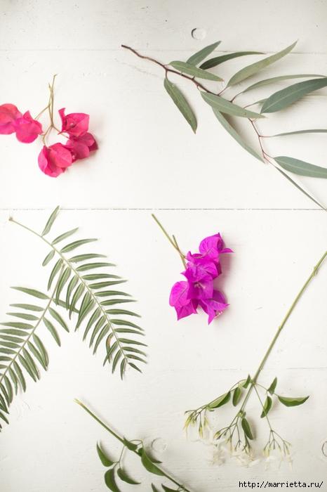 Красивая идея оформления бумажными цветами свадебного торжества (9) (466x700, 204Kb)