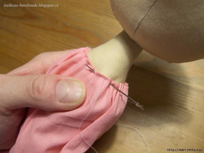 Мастер класс по пошиву текстильной