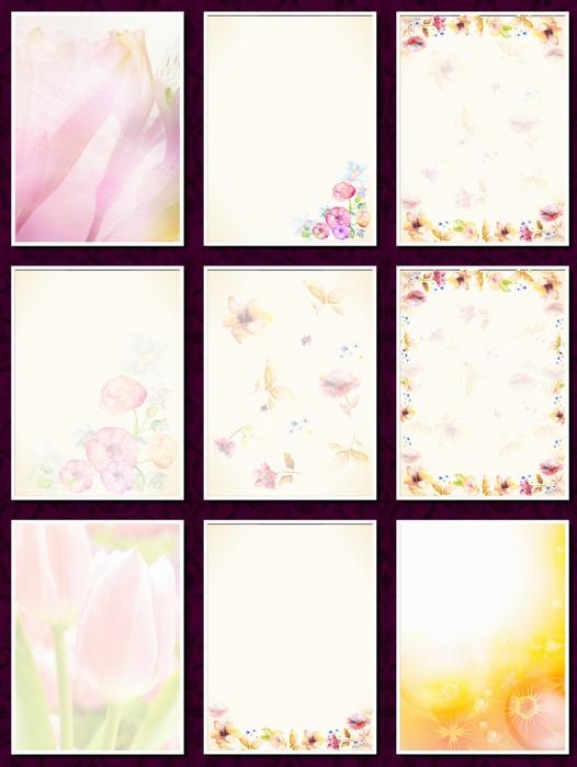 фоны цветочные а4 11-2 (526x700, 126Kb)
