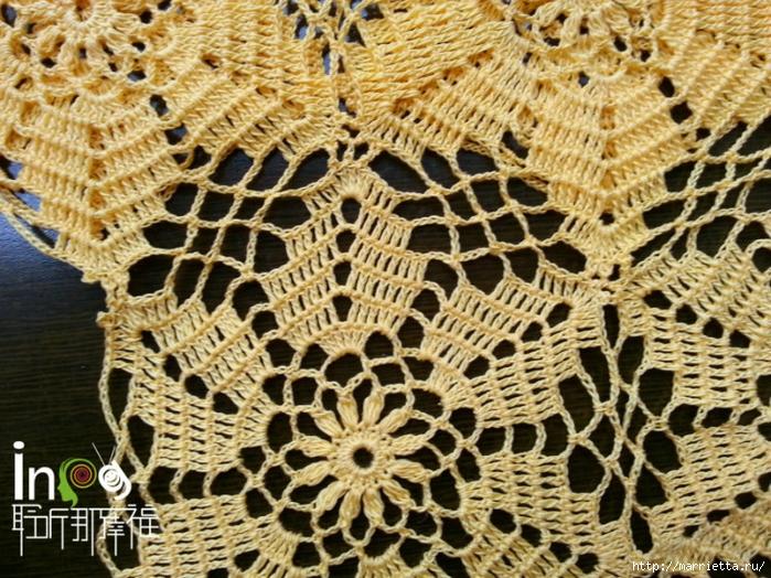 Летнее платье или длинная туника из ажурных мотивов (2) (700x524, 406Kb)