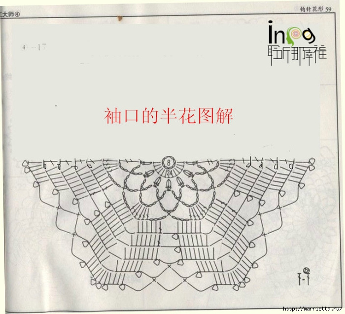 Летнее платье или длинная туника из ажурных мотивов (12) (700x637, 228Kb)