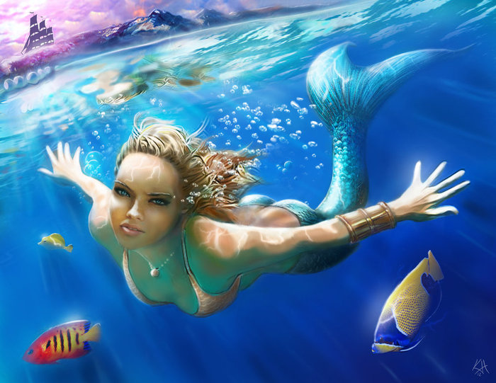 mermaid_by_kjh311-d5i8t0n (700x541, 98Kb)