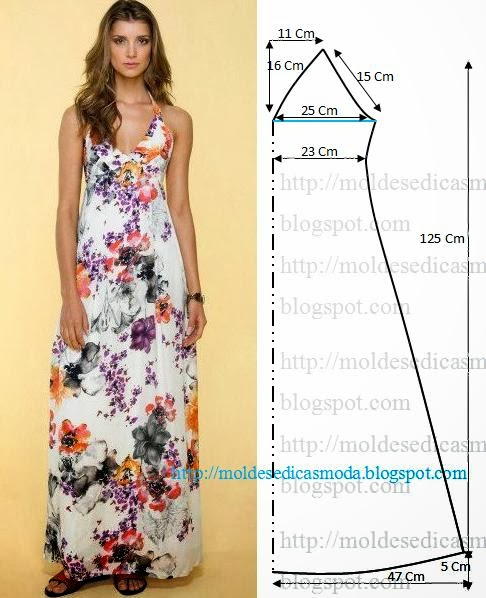 Самой сшить летнее платье самое простое
