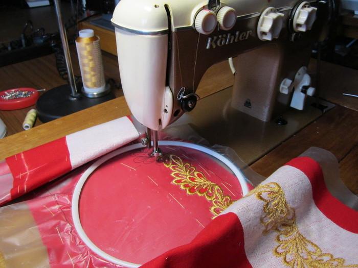Мастер класс по вышивке на обычной швейной