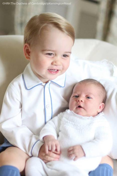 принцесса шарлота и принц джордж фото 1 (466x700, 234Kb)