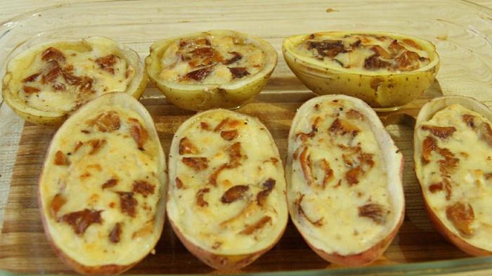 Жульен в картошке рецепты