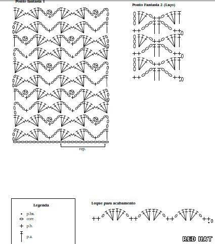 Схема к бирюзовому болеро
