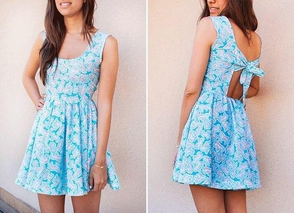 Из чего сшить легкое летнее платье 828