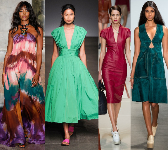 Платья Летом 2015