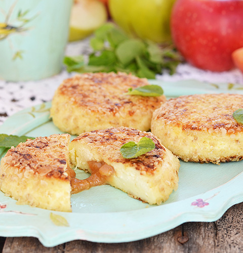 Сырники из творога с яблоками в духовке рецепт с фото пошагово