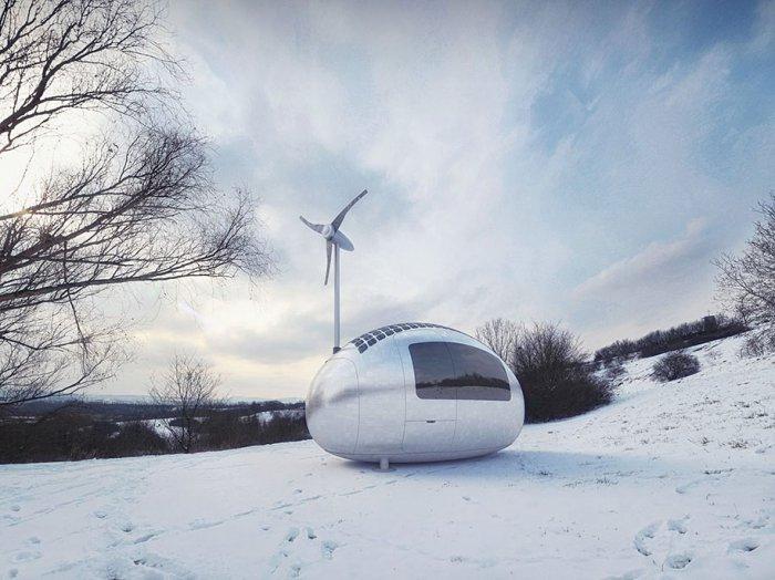 экологичный дом-капсула Ecocapsule 2 (700x524, 239Kb)