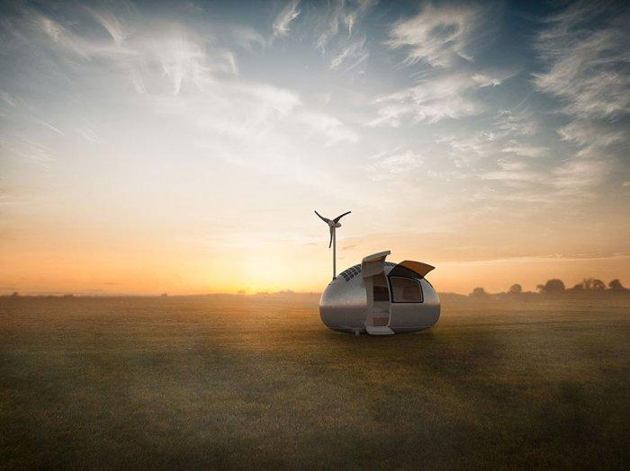 экологичный дом-капсула Ecocapsule 4 (700x524, 186Kb)