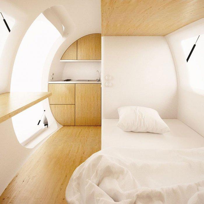экологичный дом-капсула Ecocapsule 6 (700x700, 223Kb)