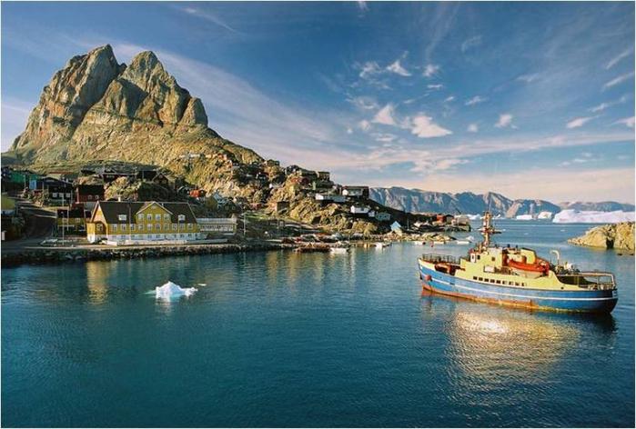 Остров Уумманнак Гренландия 2 (700x472, 340Kb)