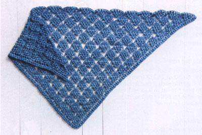 Crochet Patterns Triangle Shawl : Crochet triangle shawl free pattern . ?????????? ?? ...