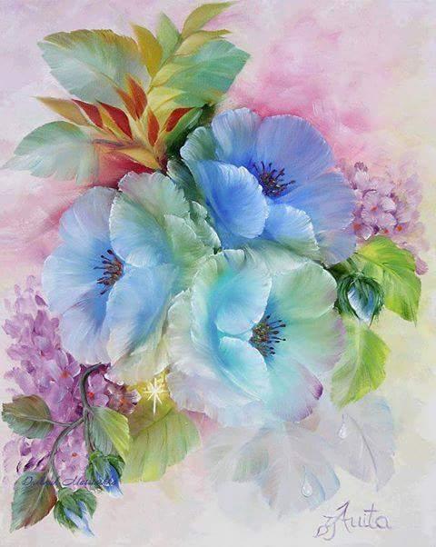 1. Цветочный натюрморт - фото (480x602, 257Kb)