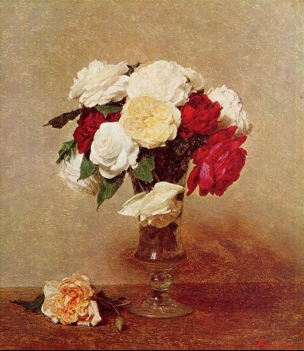 Roses in a Stemmed Glass (606x700, 356Kb)