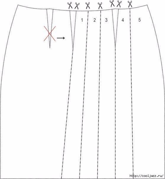 Платье Ruffled - Выкройка1 (558x604, 78Kb)