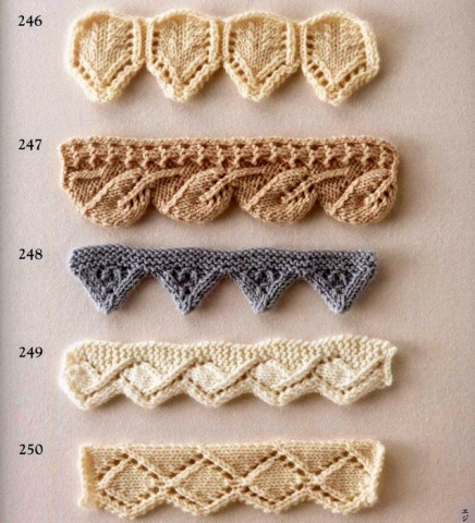 Коллекция красивых узоров для оформления края спицами/1783336_84ce1245 (436x480, 65Kb)
