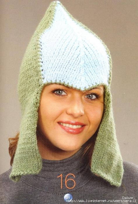 Вязание шапки буденовки