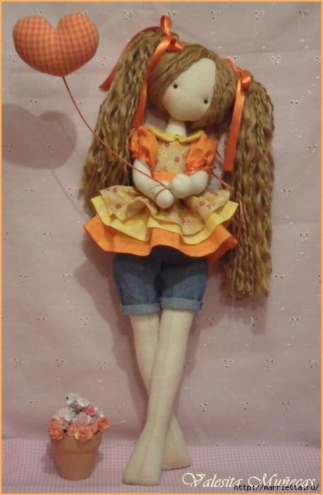 Кукла Linda от Valeska Solar. Выкройка (1) (456x700, 186Kb)