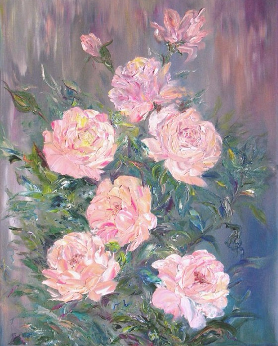 Розовый куст (559x697, 443Kb)