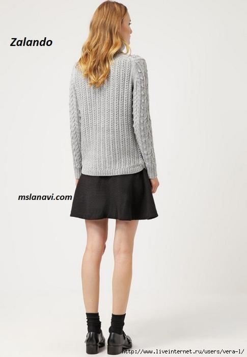 Вязаный-свитер-с-шишечками-спинка (485x700, 119Kb)
