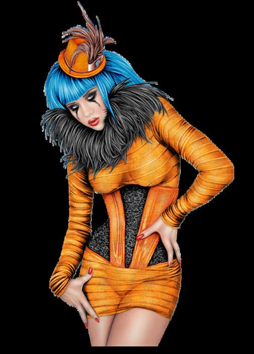 BirdOfAFeather3 (503x700, 354Kb)