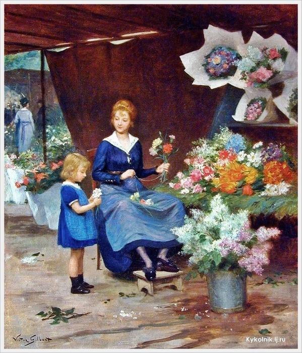 5229398_VictorGabriel_Gilbert_French_18471933_The_Flower_Seller_ar_2 (599x700, 194Kb)